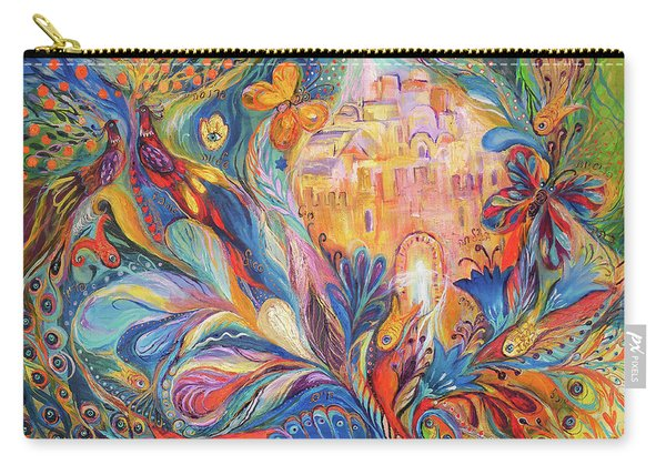 The Spirit Of Jerusalem Carry-all Pouch