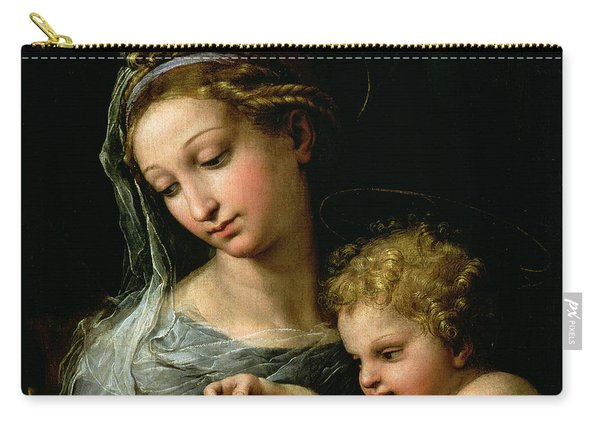 The Virgin Of The Rose Carry-all Pouch
