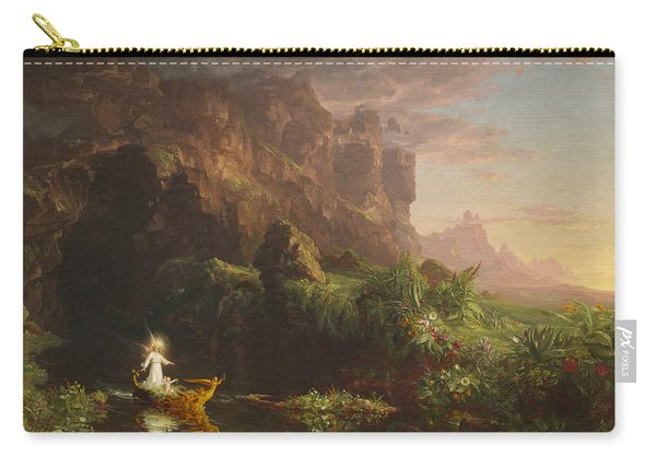 The Voyage Of Life, Childhood Carry-all Pouch