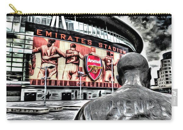 Thierry Henry Statue Emirates Stadium Art Carry-all Pouch