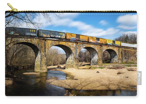 Thomas Viaduct Panoramic Carry-all Pouch