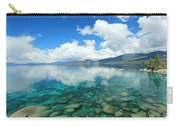 Carry-all Pouch featuring the photograph Thunderclouds by Sean Sarsfield