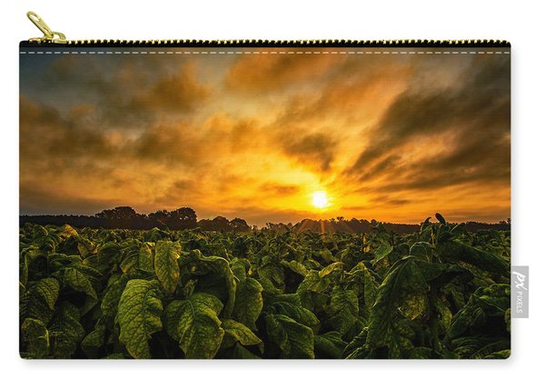 Tobacco Sunrise  Carry-all Pouch