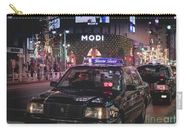 Tokyo Taxis, Japan Carry-all Pouch