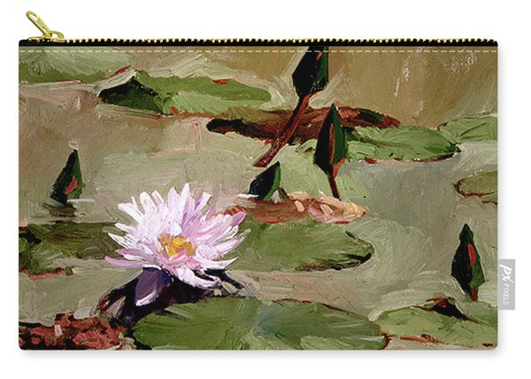 Tomorrow's Blooms- Water Lilies Carry-all Pouch