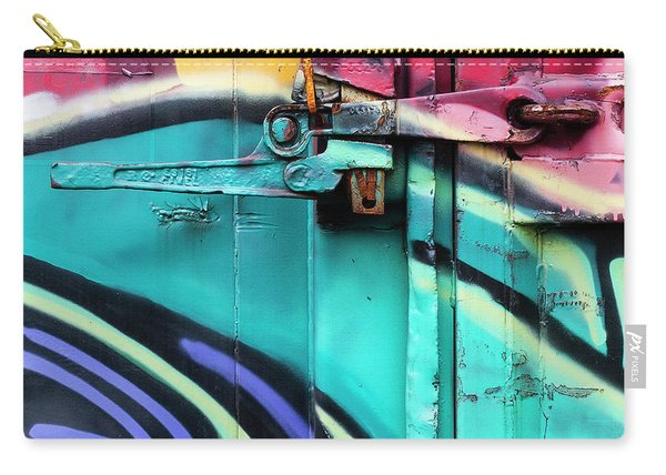 Train Art Abstract Carry-all Pouch