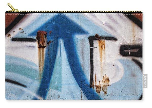 Train Graffiti Double Arrow Carry-all Pouch