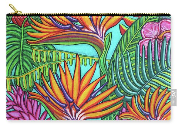 Tropical Gems Carry-all Pouch