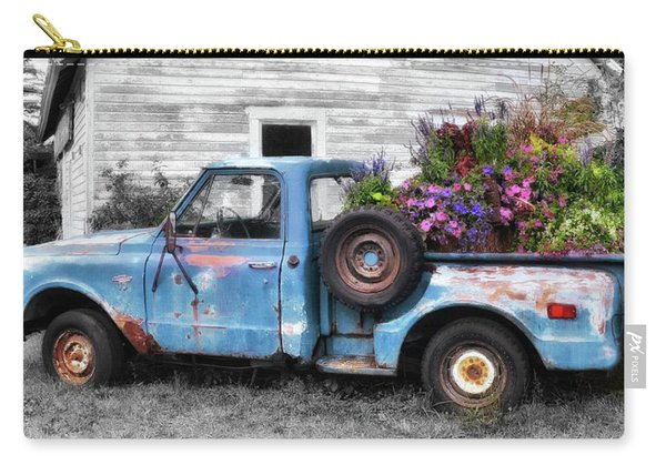 Truckbed Bouquet Carry-all Pouch