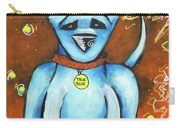 True Blue Carry-all Pouch