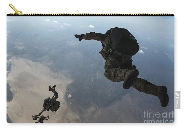 U.s. Pararescuemen And U.s. Marines Carry-all Pouch
