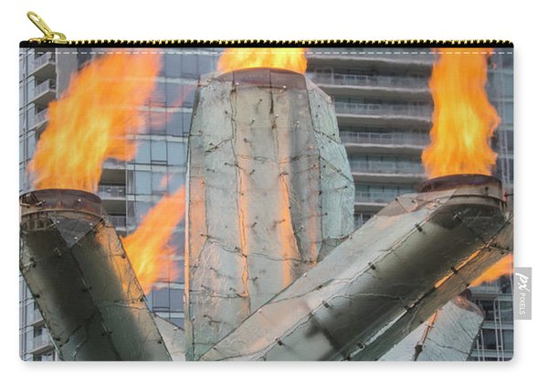 Vancouver Olympic Cauldron Carry-all Pouch