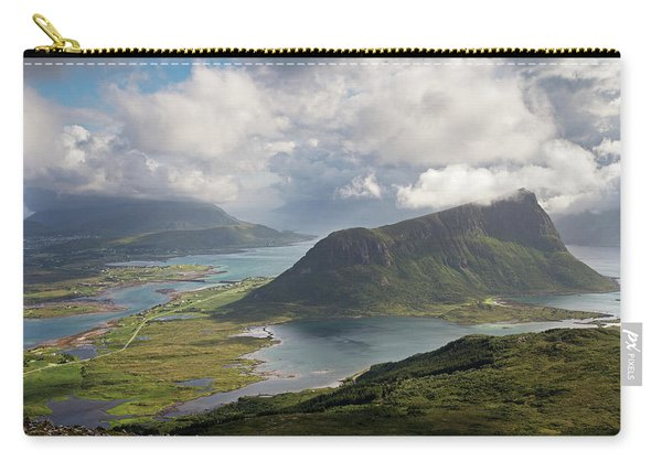 View Towards Offersoykammen From Holandsmelen Carry-all Pouch