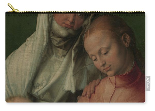 Virgin And Child With Saint Anne Carry-all Pouch