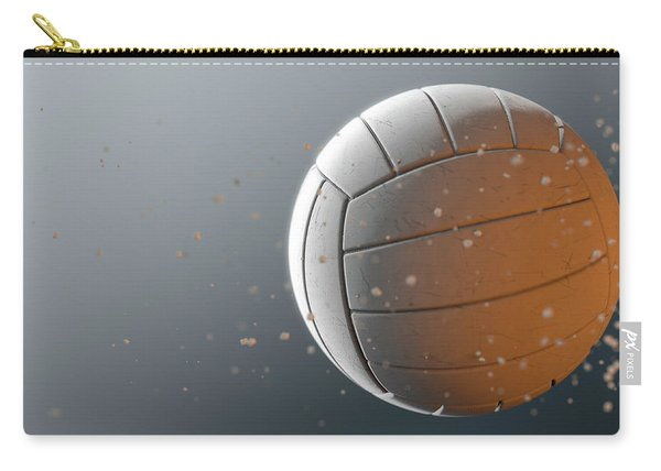 Volleyball In Flight Carry-all Pouch