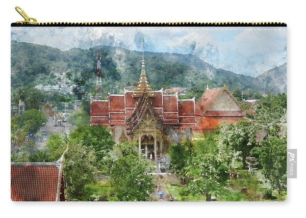 Wat Chalong In Phuket Thailand Carry-all Pouch