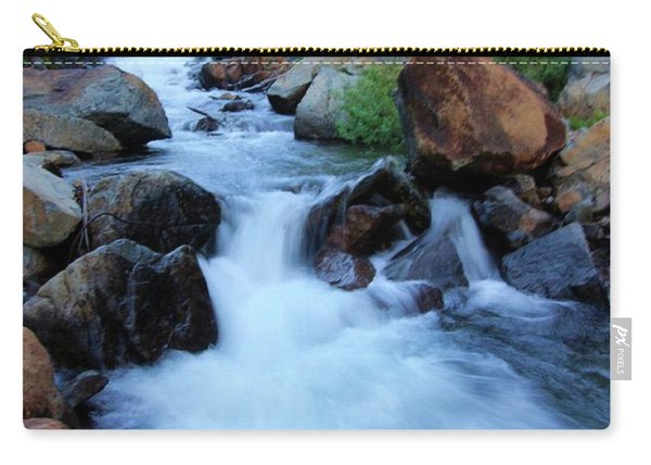 Carry-all Pouch featuring the photograph Water Under The Bridge by Sean Sarsfield