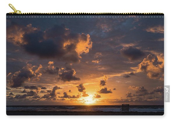 Watercolor Sunrise Delray Beach Florida Carry-all Pouch
