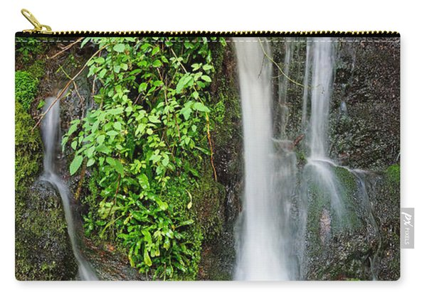Waterfall By The Road Carry-all Pouch