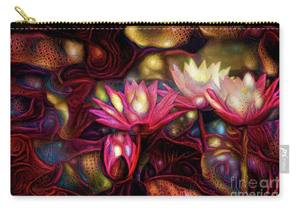 Waterlilies 7 Carry-all Pouch