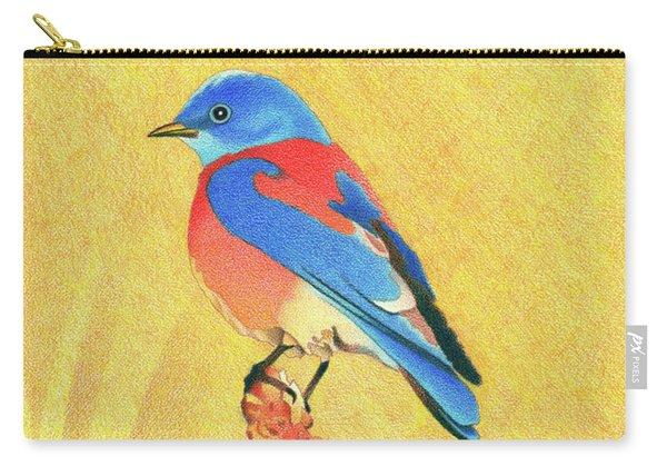 Western Bluebird Carry-all Pouch