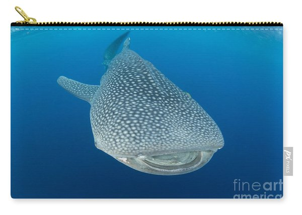Whale Shark Descending To The Depths Carry-all Pouch