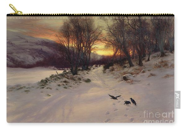 When The West With Evening Glows Carry-all Pouch