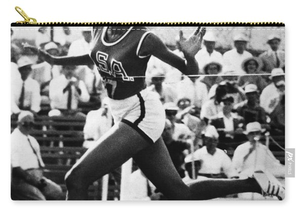 Wilma Rudolph (1940-1994) Carry-all Pouch