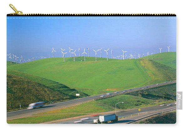 Wind Energy Windmills Along Route 580 Carry-all Pouch