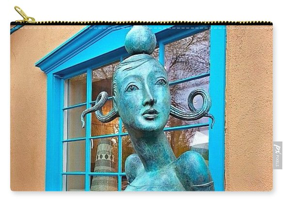 #windowshopping In #santafe #newmexico Carry-all Pouch