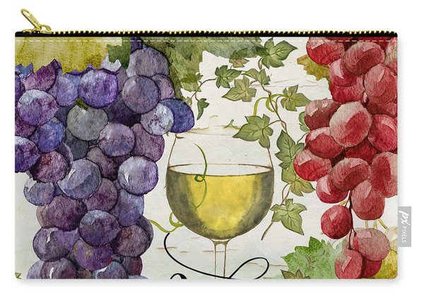 Wines Of Paris II Carry-all Pouch