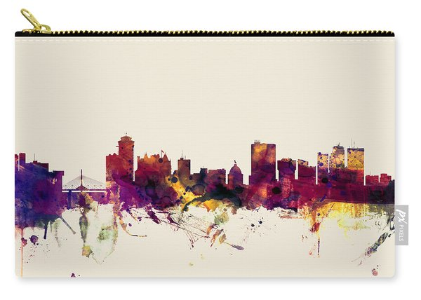 Winnipeg Canada Skyline Carry-all Pouch