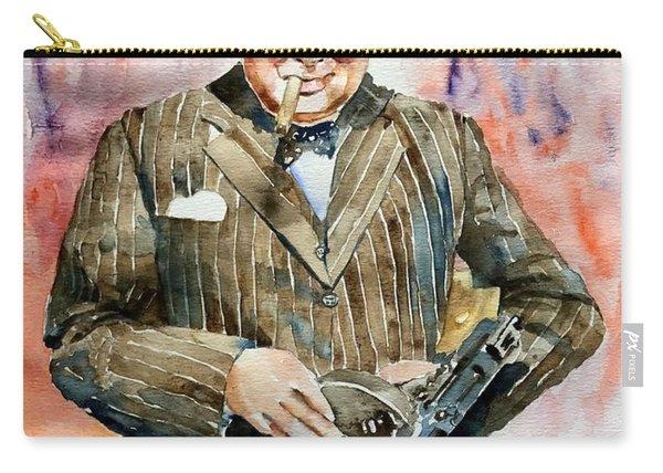 Winston Churchill Portrait Carry-all Pouch