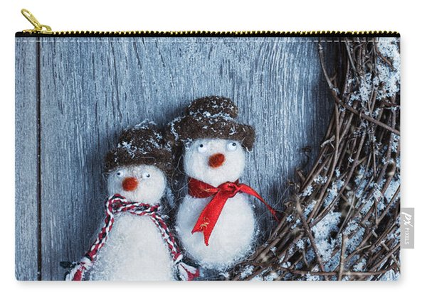 Winter Garland Carry-all Pouch