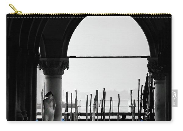 Woman At Doges Palace Carry-all Pouch
