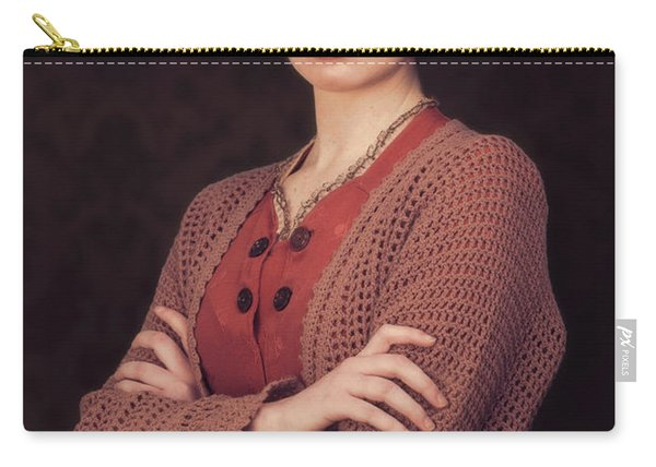 Woman In Period Costume Carry-all Pouch