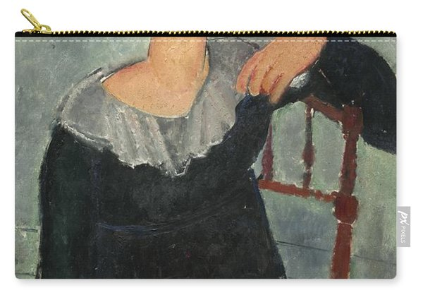 Woman With Red Hair Carry-all Pouch