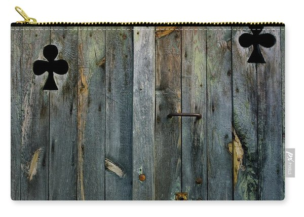 Wooden Door Carry-all Pouch