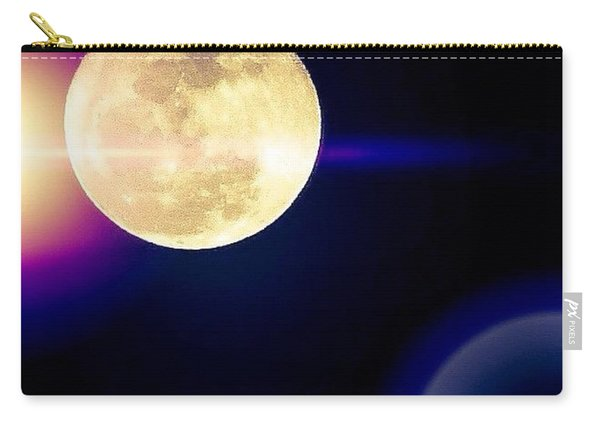 Wouldn't It Be Great If The #moon And Carry-all Pouch