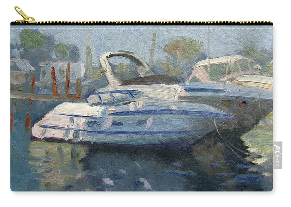 Yachts At The Harbor Carry-all Pouch