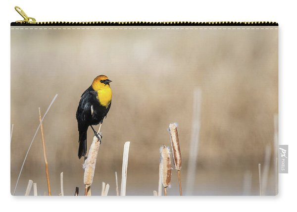 Yellow Headed Blackbird Carry-all Pouch