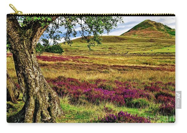Yorkshire Moorland Heather Carry-all Pouch
