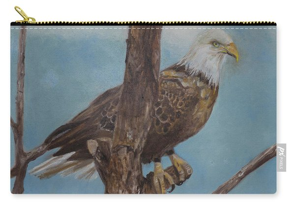 Young Eagle Carry-all Pouch