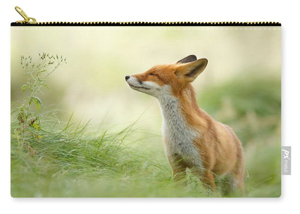 Zen Fox Series - Zen Fox Carry-all Pouch