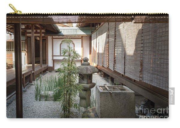 Zen Garden, Kyoto Japan Carry-all Pouch