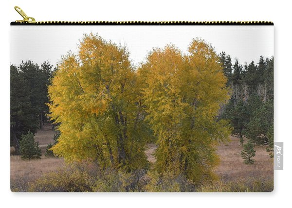 Aspen Trees In The Fall Co Carry-all Pouch