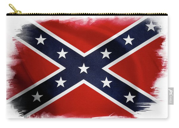 Confederate Flag 10 Carry-all Pouch