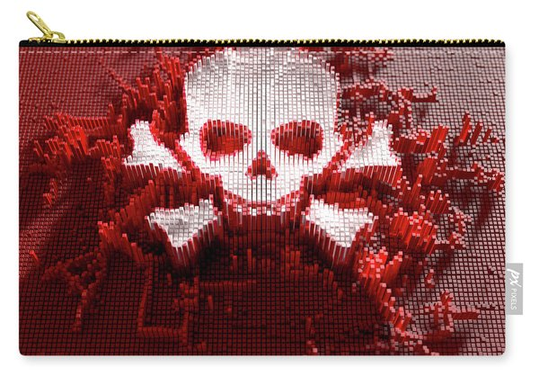 Skull And Cross Bones Cloner Carry-all Pouch