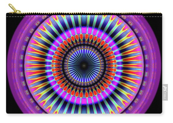 Carry-all Pouch featuring the digital art 101520177 by Visual Artist Frank Bonilla