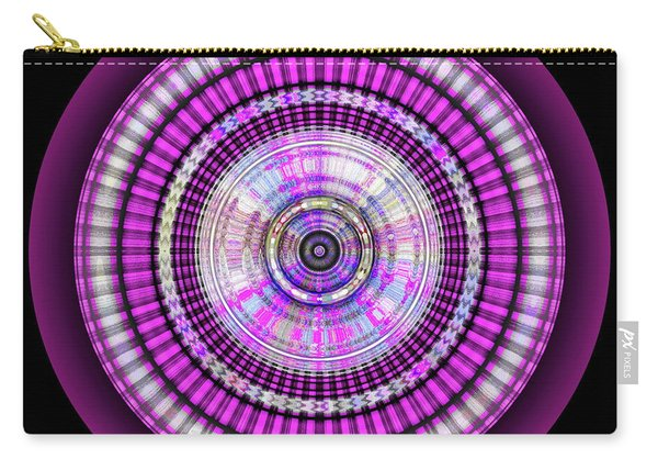 Carry-all Pouch featuring the digital art 102920171 by Visual Artist Frank Bonilla